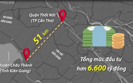 [Video] 4 dự án kết nối Đồng bằng sông Cửu Long hoàn thành trong 2018